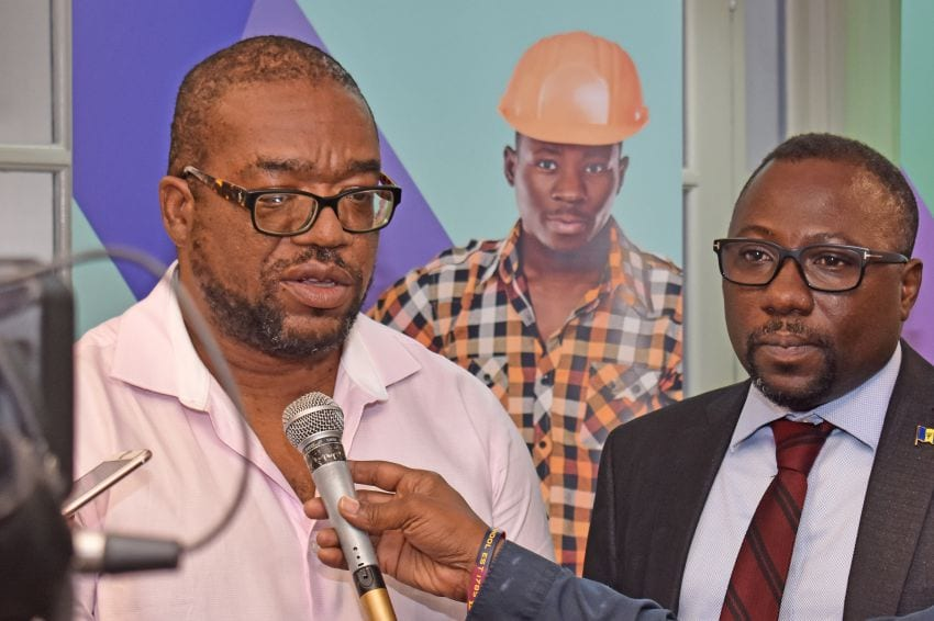 Trust-Loan-Fund-Manager-Jerry-Amos-and-Minister-Dwight-Sutherland